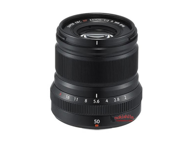 Αύριο ανακοινώνεται ο φακός Fujifilm XF50mm F2 WR