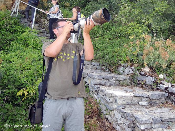 «πριν το κλικ!» Σεμινάριο Φωτογραφίας Άγριας Ζωής από την Ορνιθολογική