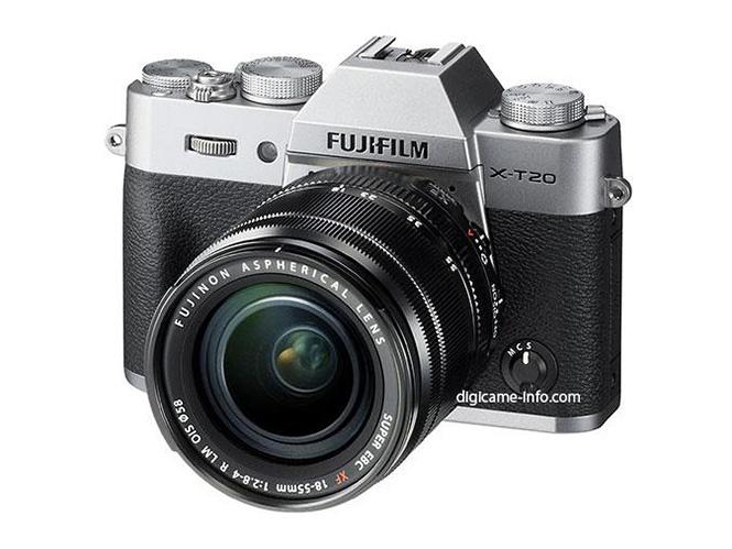 Διέρρευσαν οι φωτογραφίες της ανακοίνωσης της Fujifilm X-T20