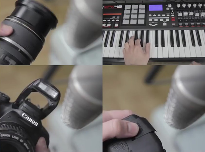 Δημιουργόντας μουσική με φωτογραφικό εξοπλισμό