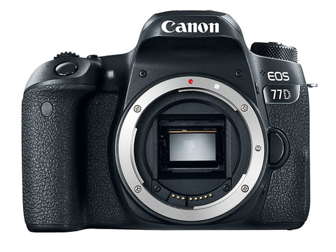 Canon EOS 77D, νέα DSLR με μικρές διαφορές από τη νέα Canon EOS 800D