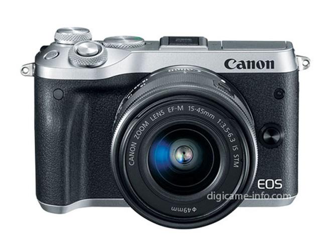 Έρχεται η Canon EOS M6, διέρρευσαν οι πρώτες φωτογραφίες της