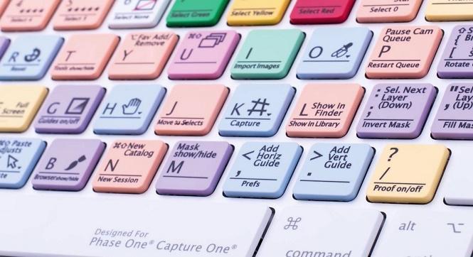 Capture One Pro Keyboard 2