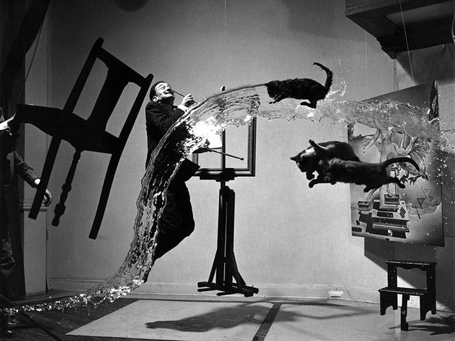 Η ιστορία πίσω από την τρελή φωτογραφία Dali Atomicus