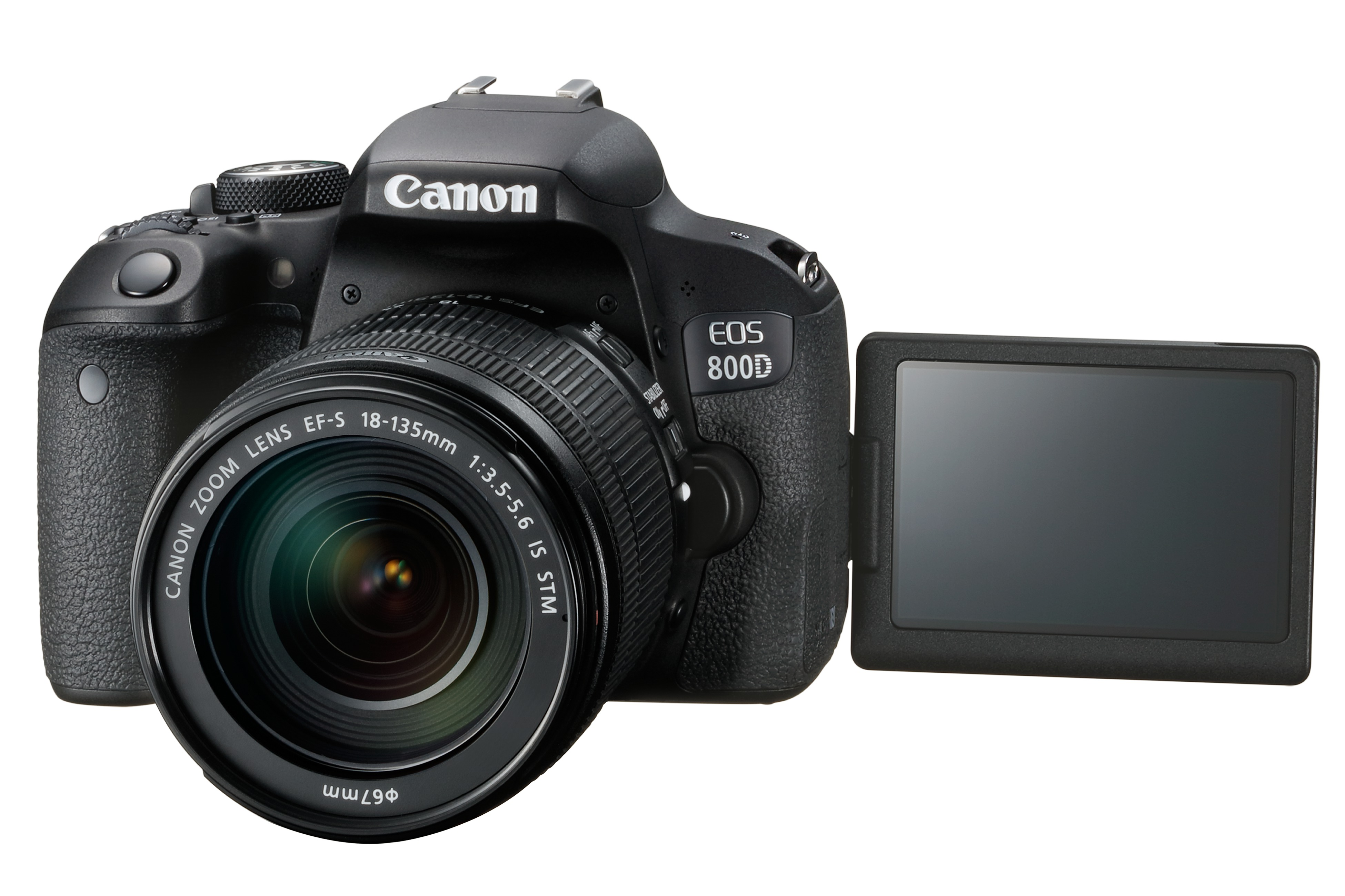 EOS 800D FSL with EF-S 18-135mm IS STM LCD Out
