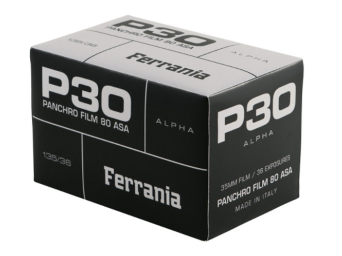 FILM Ferrania P30: Αναβιώνει το ασπρόμαυρο film της ιταλικής εταιρείας