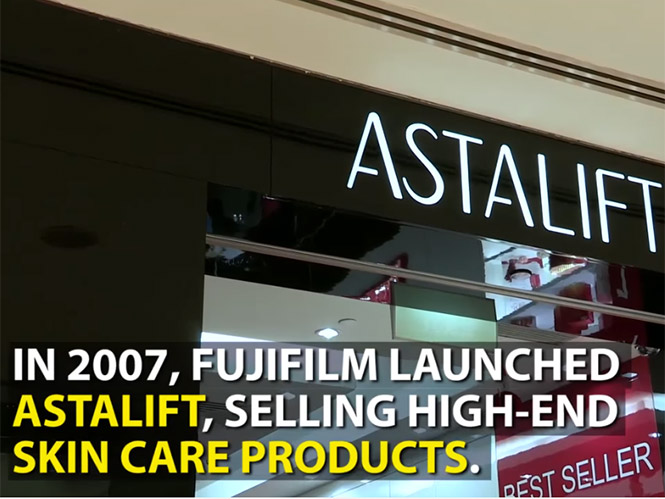 H Fujifilm απέφυγε τη χρεοκωπία και αυτό οφείλεται στα καλλυντικά