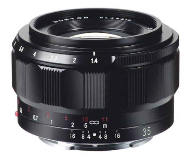 Voigtlander Classic NOKTON 35mm f:1.4 lens E-mount