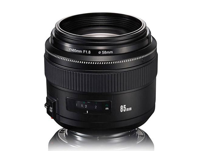 Ανακοινώθηκε ο νέος Yongnuo YN 85mm f/1.8