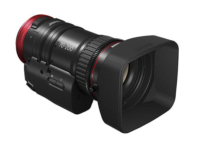 H Canon παρουσιάζει τον νέο φακό Canon CN-E70-200mm T4.4 L IS KAS S
