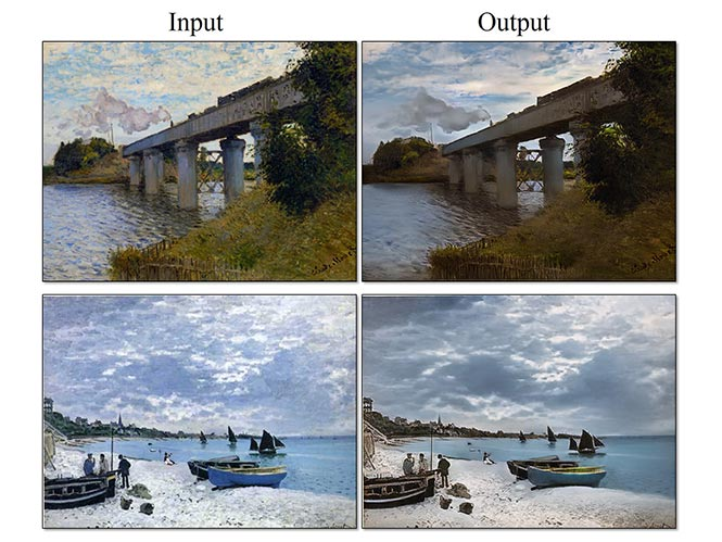 Νέος αλγόριθμος μετατρέπει πίνακες ζωγραφικής σε φωτογραφίες