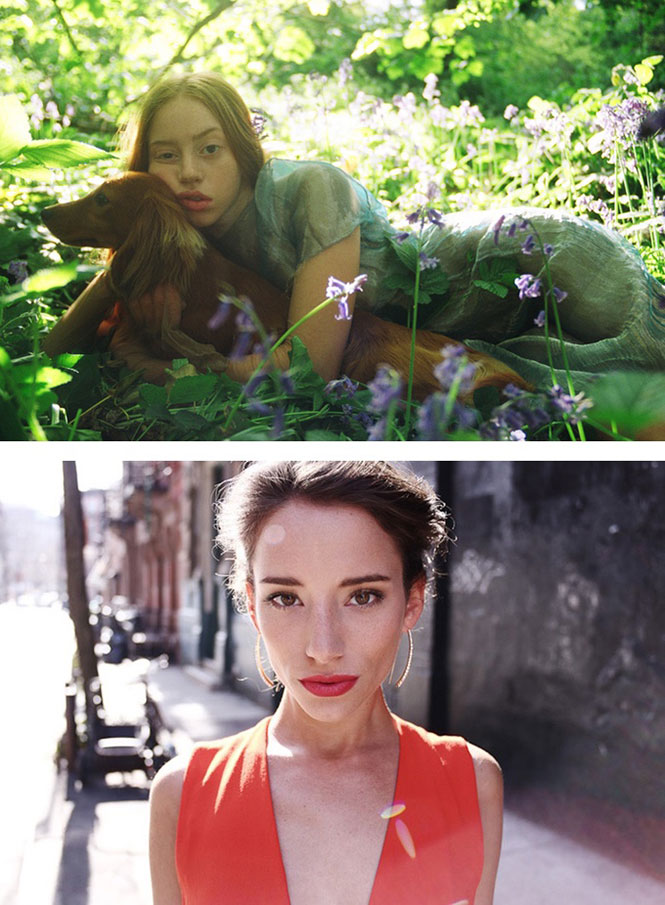 Eleanor Hardwick, London – 35mm (πάνω) και Jonathan Taylor, New York – 35mm (κάτω)