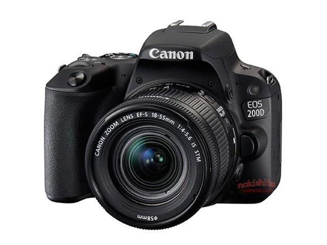 Αυτή είναι η Canon EOS 200D, ανακοινώνεται σύντομα