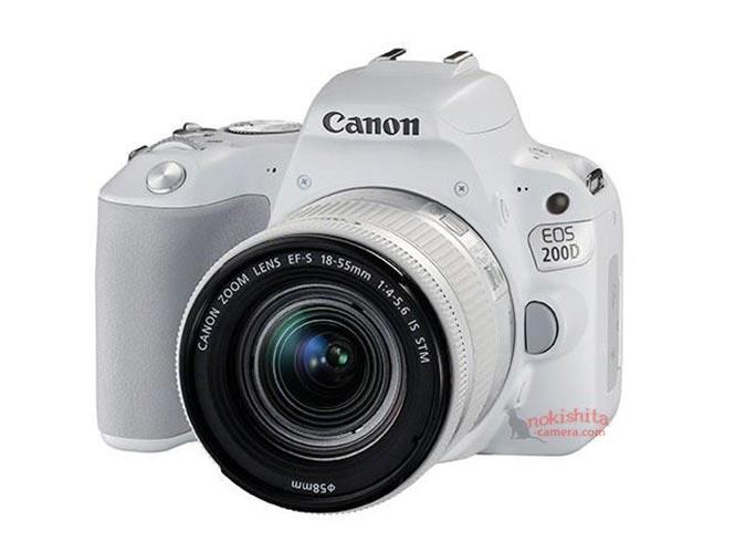 Η επερχόμενη Canon EOS 200D σε λευκό και ασημί χρώμα, ΘΑ ΕΧΕΙ Dual Pixel AF
