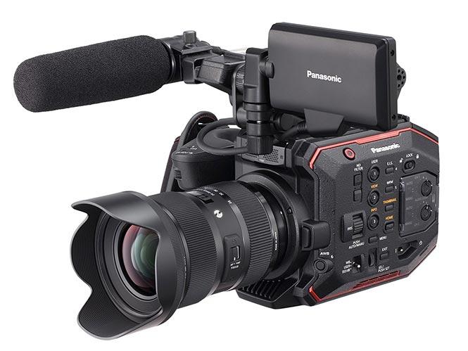 Panasonic AU-EVA1, με αισθητήρα Super 35mm και mount για Canon φακούς