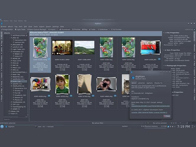 digiKam: Νέα έκδοση του δωρεάν λογισμικού διαχείρισης φωτογραφιών ανοιχτού κώδικα