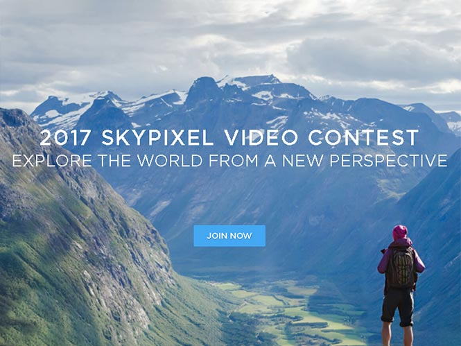 Skypixel Video Contest 2017, μεγάλος διαγωνισμός για video από drone