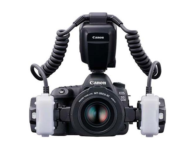 Canon Macro Twin Lite MT-26EX-RT: Νέο flash για macro φωτογραφίες