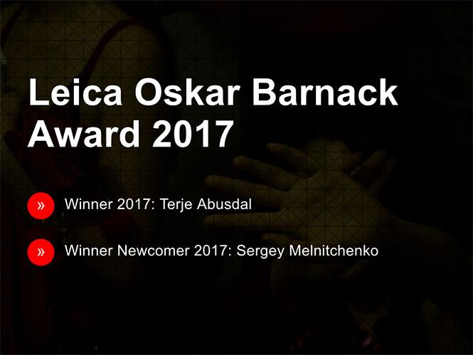 Ανακοινώθηκαν οι νικητές του Leica Oskar Barnack Award 2017