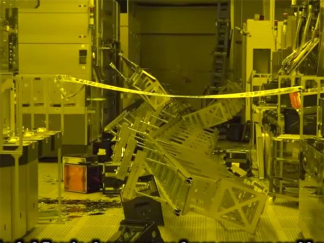 Video από την καταστροφή του εργοστασίου της Sony στο Kumamoto