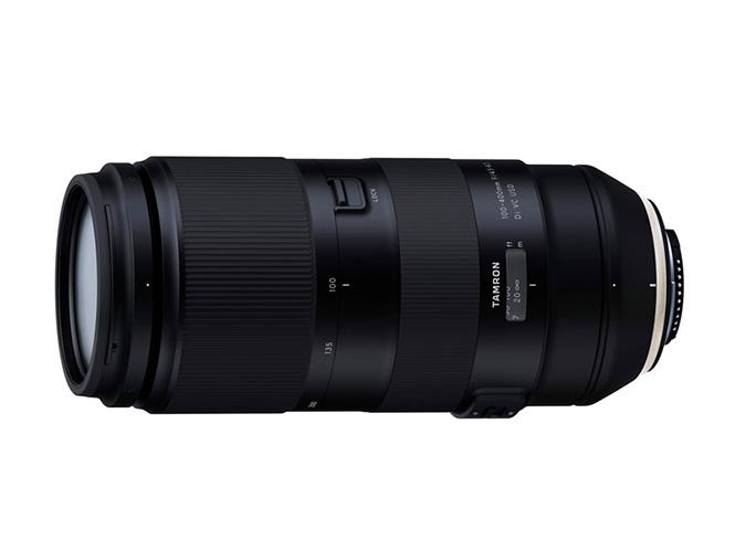 Ανακοινώθηκε η ανάπτυξη του Tamron 100-400mm F/4.5-6.3 Di VC USD (Model A035)