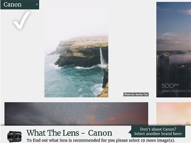 What The Lens: Διάλεξε τον επόμενο φακό σου με αυτό το απλό εργαλείο