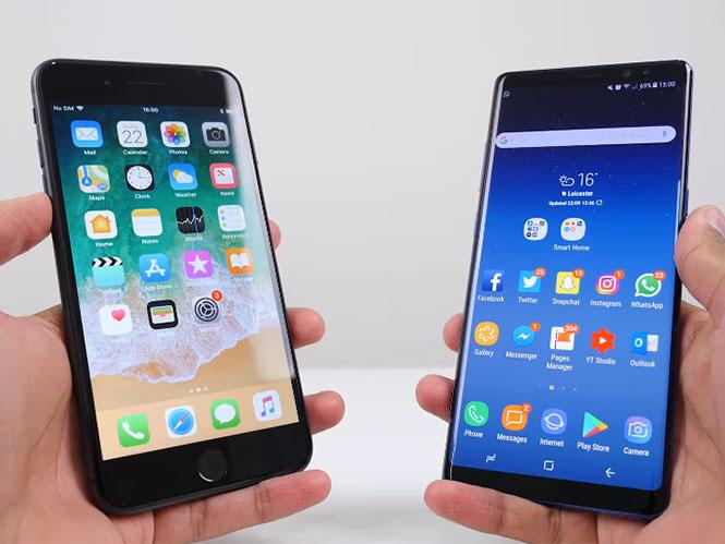 Apple iPhone 8 Plus εναντίον Samsung Galaxy Note 8, ποιο έχει καλύτερη κάμερα;
