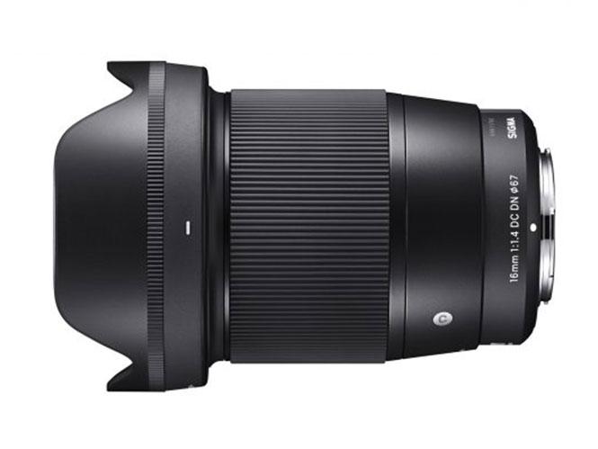 Η SIGMA ανακοίνωσε την ανάπτυξη του SIGMA 16mm F1.4 DC DN | Contemporary