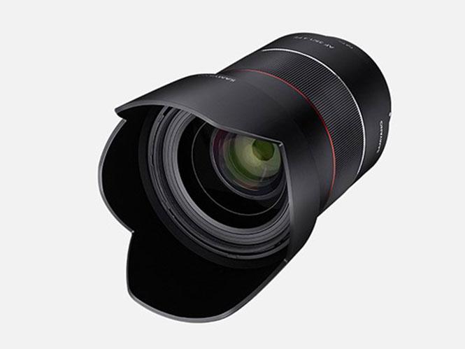 H Samyang παρουσίασε τον νέο της 35άρη στο f/1.4  με AF για Sony E-mount