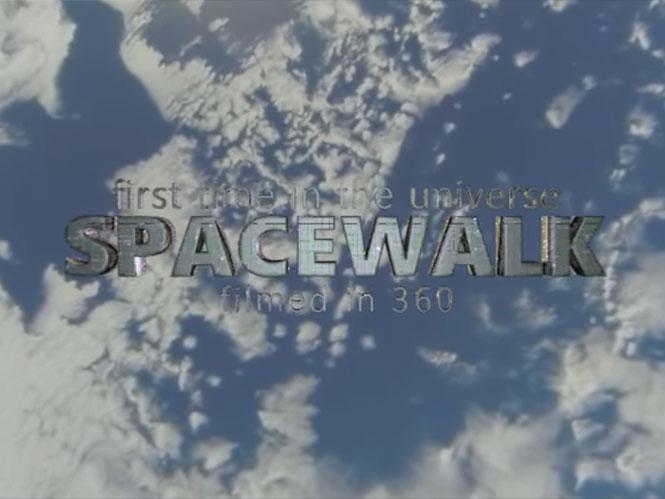 Αυτό είναι το πρώτο video 360 μοιρών διαστημικής βόλτας έξω από τον Δ.Δ.Σ.