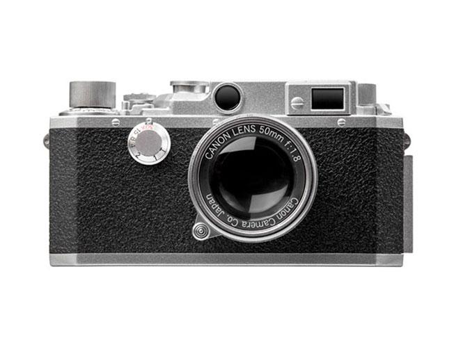 Η Canon πουλάει αυτή τη ρέπλικα της Canon IV SB μηχανής στα 80 δολάρια