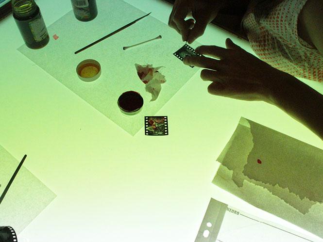 Εργαστήριο The Handmade Image με τη Rowan Tara de Freitas.