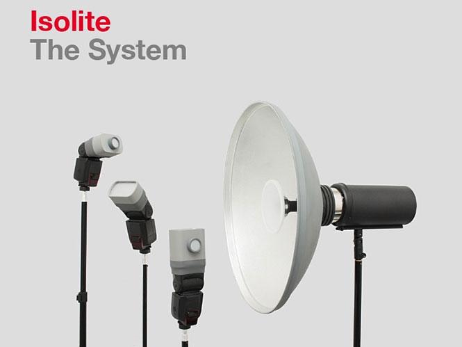 Το Isolite είναι ένα επαναστατικό αξεσουάρ που επιτρέπει την αλλαγή του φωτισμού μετά τη λήψη