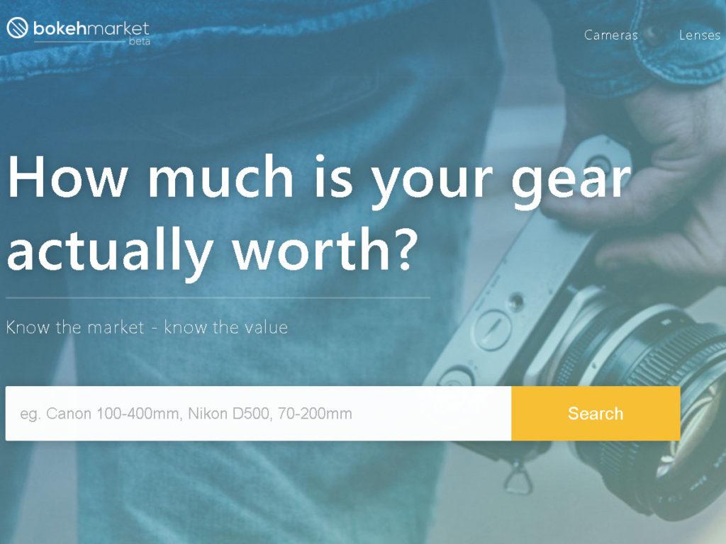 Bokeh Market: Αυτή η ιστοσελίδα υπολογίζει την αξία μεταχειρισμένου εξοπλισμού
