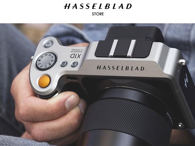 H Hasselblad άνοιξε το δικό της online κατάστημα
