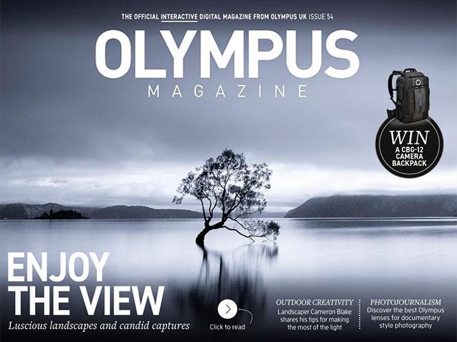 Διαθέσιμο το νέο τεύχος του Olympus Magazine
