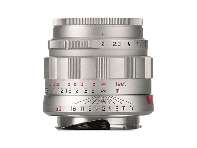 Leica APO-SUMMICRON-M 50 mm f/2 ASPH 'LHSA', επετειακή έκδοση στα 9.600 δολάρια