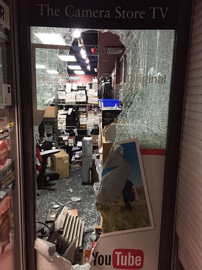 Διάρρηξη σε φωτογραφικό κατάστημα του Καναδά με λεία πάνω από 25.000 ευρώ