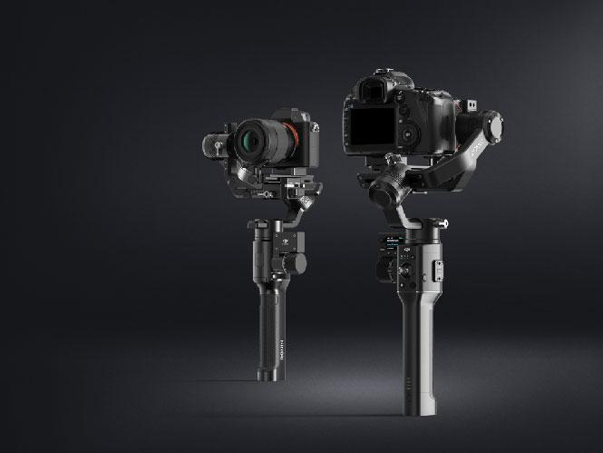 Η DJI πρόσθεσε στα Ronin S και Ronin SC υποστήριξη για τις νέες κάμερες των Canon, Fujifilm, Sony, Panasonic