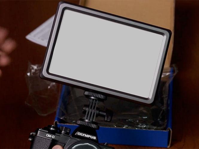 Παρουσίαση hands on του LED Light, NanGuang LuxPad 22
