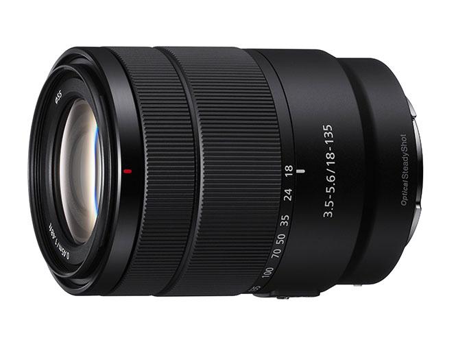 H Sony παρουσιάζει τον νέο φακό Sony 18-135mm F3.5-5.6 για E-mount μηχανές