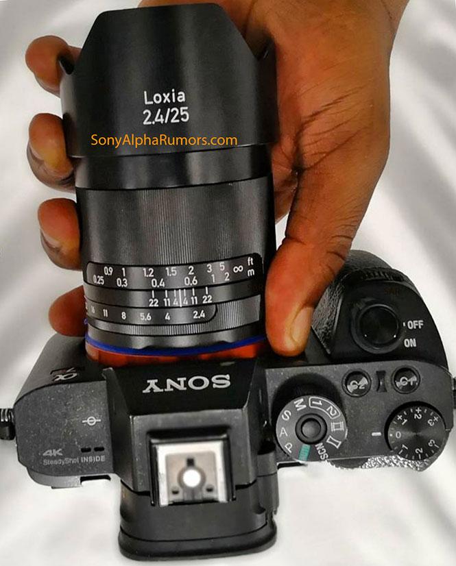 Διέρρευσε η πρώτη εικόνα του ZEISS Loxia 25mm f/2.4