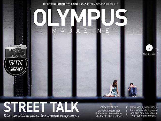 Διαθέσιμο το νέο τεύχος του online περιοδικού Olympus Magazine