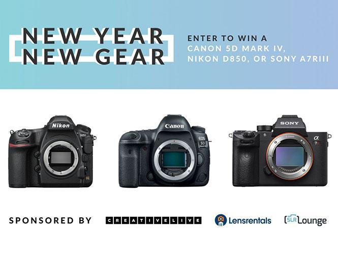 Τεράστιος Διαγωνισμός από την SLRLounge! Κέρδισε μία Canon EOS 5D IV ή Nikon D850 ή Sony A7R III