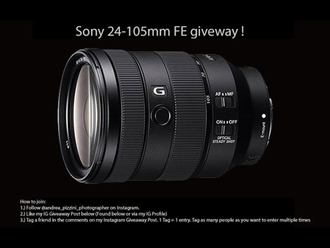 Η SonyAlphaRumors κληρώνει ένα φακό Sony 24-105mm FE