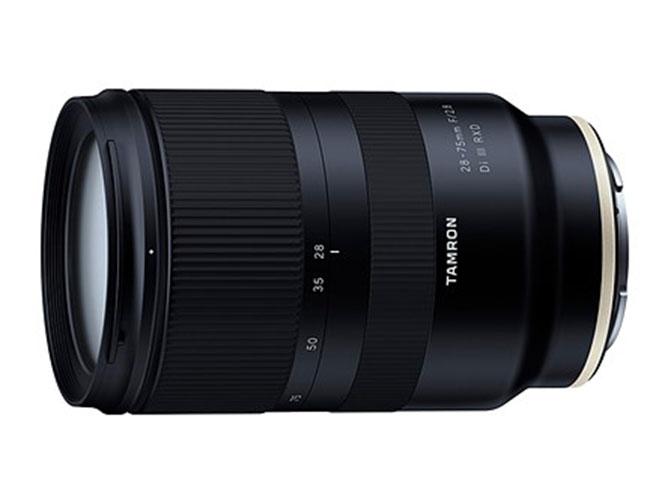Η Tamron ανακοίνωσε την ανάπτυξη του νέου Tamron 28-75mm F/2.8 Di III RXD