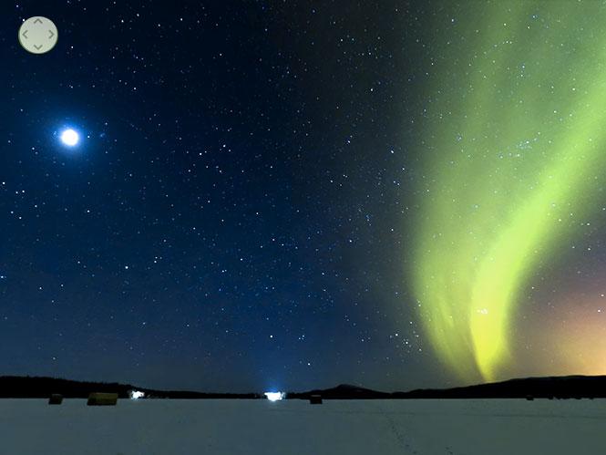Απίστευτο video 360 μοιρών δείχνει την έκλειψη της σελήνης και το Βόρειο Σέλας στην Αλάσκα
