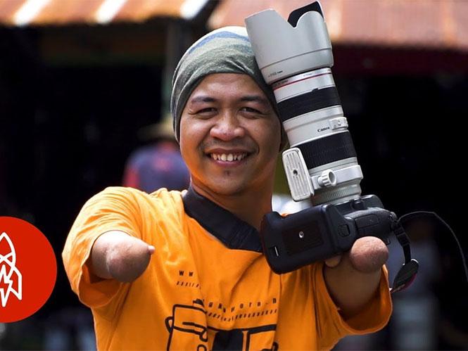 Φωτογράφος χωρίς μέλη μπορεί και κάνει θαύματα με το φακό του