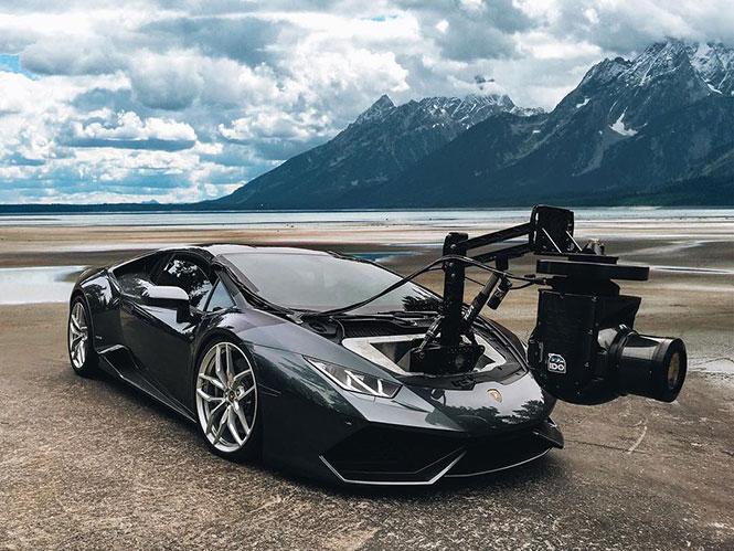 Δείτε σε video το πιο γρήγορο Camera Car, Lamborghini Huracan, αξίας άνω των 500.000 δολαρίων