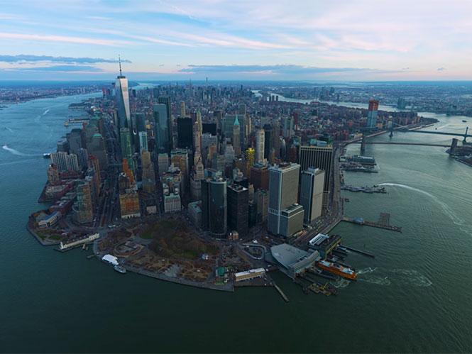 Απολαύστε video της Νέας Υόρκης από ψηλά, τραβηγμένο σε ανάλυση 12Κ
